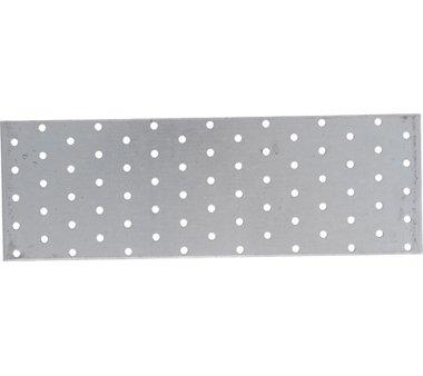 Bgs Technic Staalplaat met gaten 300 x 100 mm