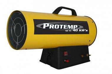 Warme luchtblazer propaan