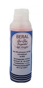 Bgs Technic Beral Uni-Glue Borgmiddel rood high strength 50ml