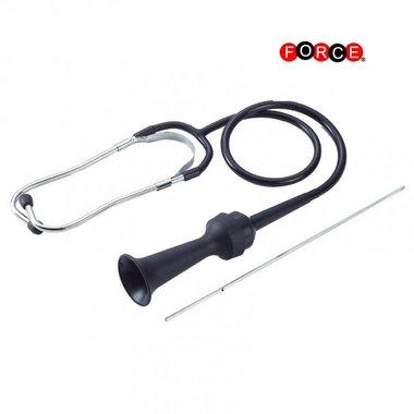 Motor stethoscoop met luistertrechter