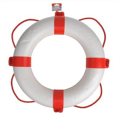 Reddingsboei diameter 550mm, wit - rood