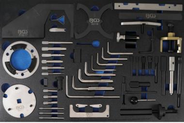 Bgs Technic Gereedschapsblad 3/3: Gereedschapset motortiming voor Ford, VW, Seat, Mazda, Volvo