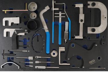 Bgs Technic Gereedschapsblad 3/3: Gereedschapset motortiming voor Renault, Nissan, Opel, Volvo