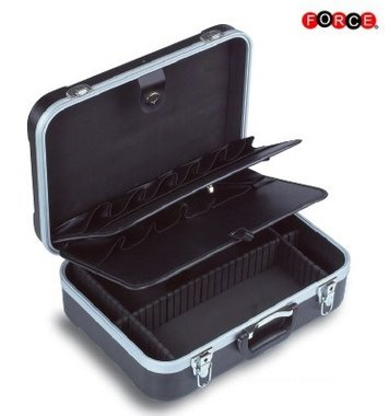 Black tool suitcase (rollable)