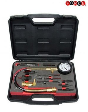 Diesel engine compression tester set 13-delig