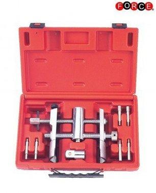 Adjustable wheel bearing lock nut wrench 8-delig