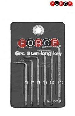Torx sleutel set lang 9-Delige