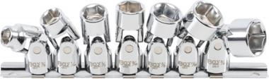 Bgs Technic Verbindingssleutel Set 10 mm (3/8 inch) aandrijving 3/8 inch - 3/4 inch inch maten 7 st.