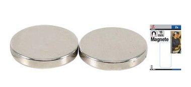 Magneetset extra sterk diameter 18 mm 2-dlg