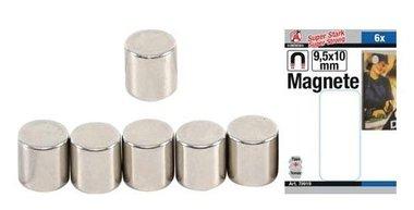 Magneetset extra sterk diameter 9,5 mm 6-dlg