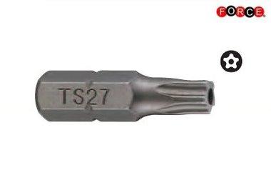 1/4 Five-sided star tamper bit TS25