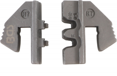 Bgs Technic Crimping Jaws voor Waterproof Terminal Parts (H7) voor BGS 1410, 1411, 1412