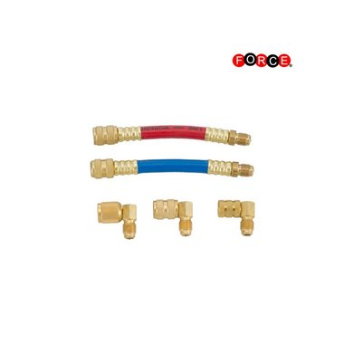 Auto A/C swivel adaptor kit 5 delig