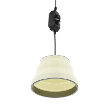 Hanglamp LED opvouwbaar silicone wit ƒ˜15cm