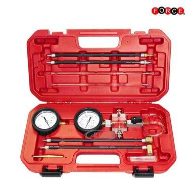 Common rail injector, return flow pressure measurement tester