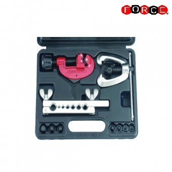 Tubing cutter and double flaring tool kit (Metric)