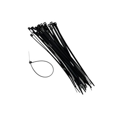 Kabelbandjes 4,8x370mm x100 stuks