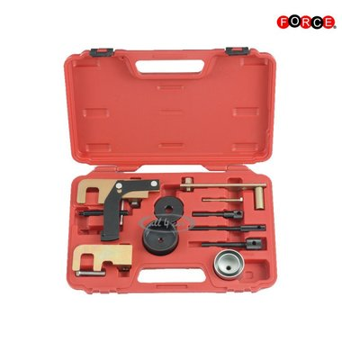 Diesel engine locking tool set voor OPEL/Renault/Nissan