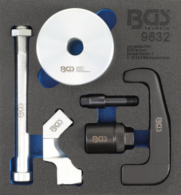Bgs Technic Injectorenuittrekker voor Bosch CDI-injectoren 6-delig