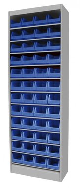 Bakjeskast zonder deur 650x285x1920