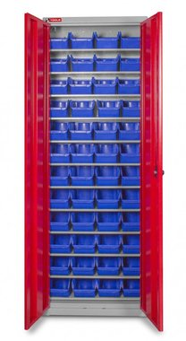 Bakjeskast met deuren bakjes 48 x BOT30