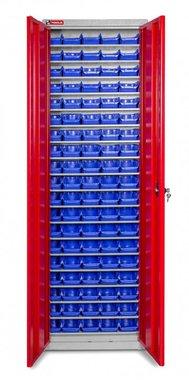 Bakjeskast met deuren bakjes 95 x BOT20