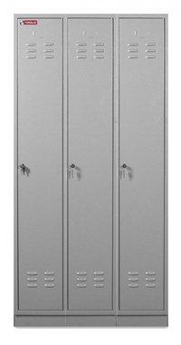 Metalen kleerkast 3 deuren