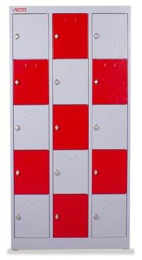 Lockerkast metaal met 15 compartimenten