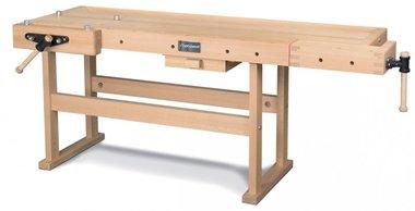 Professionele houten werkbank - 2120x790 mm