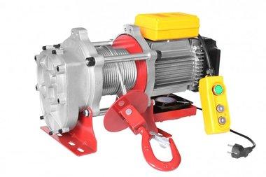 Elektrische lier 230v 500 kg