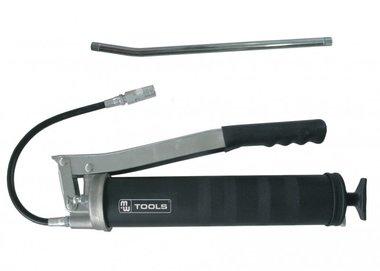 Smeerpomp 500cc met vaste en flexibele slang