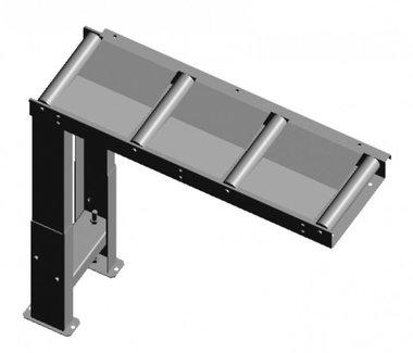 Aanvoer- / afvoerrollenbaan 1000 x 290 mm