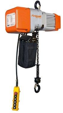 Elektrische kettingtakel 1 ton, 661x276x460mm