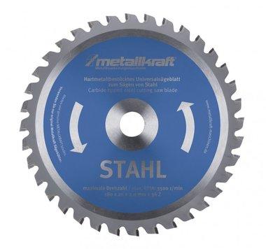TCT cirkelzaagbladen voor staal, tanden-80