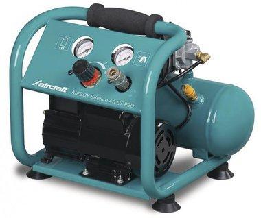 Olievrije geluidsarme compressor 10 bar, 4 liter