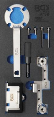 Bgs Technic Motorafstelset voor Ford 2.5, Volvo 1.6 - 2.5 & 2.4D