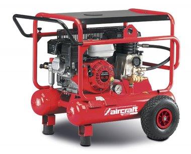 Mobiele benzine bouwcompressor 10 bar - 2x10 liter