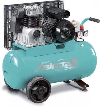 Riemaangedreven compressor 2 cil. 10 bar - 50 liter