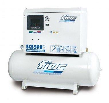 Stille compressor 270 liter
