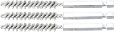 Bgs Technic Staalborstel | 8 mm | 6,3 mm (1/4) | 3-dlg