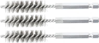 Bgs Technic Staalborstel | 13 mm | 6,3 mm (1/4) | 3-dlg