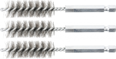 Bgs Technic Staalborstel | 15 mm | 6,3 mm (1/4) | 3-dlg