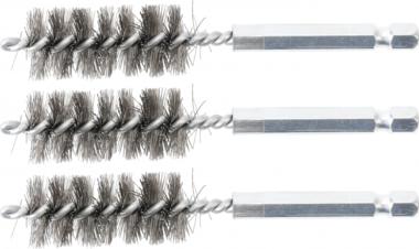 Bgs Technic Staalborstel | 17 mm | 6,3 mm (1/4) | 3-dlg