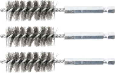 Bgs Technic Staalborstel | 18 mm | 6,3 mm (1/4) | 3-dlg