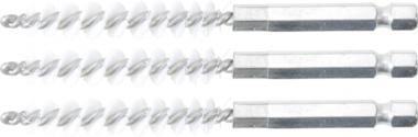 Bgs Technic Borstelschijf | 8 mm | 6,3 mm (1/4) | 3-dlg