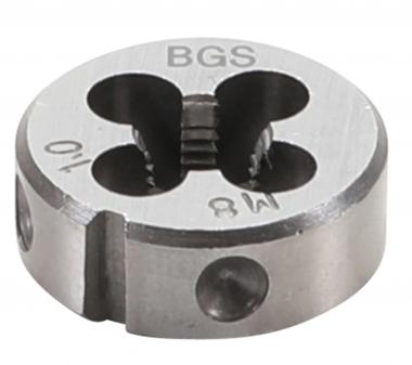 Bgs Technic Draadsnijplaat M8 x 1,0 x 25 mm