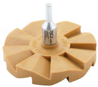 Bgs Technic Caramel pad, stickerverwijderaar zigzag diameter 90 mm