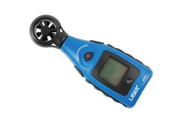 Anemometer en temperatuurmeter