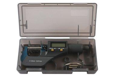 Digitaal micrometerbereik 0-25 mm