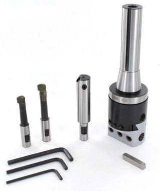 Kotterkop set R8 diameter 10 - 110 mm